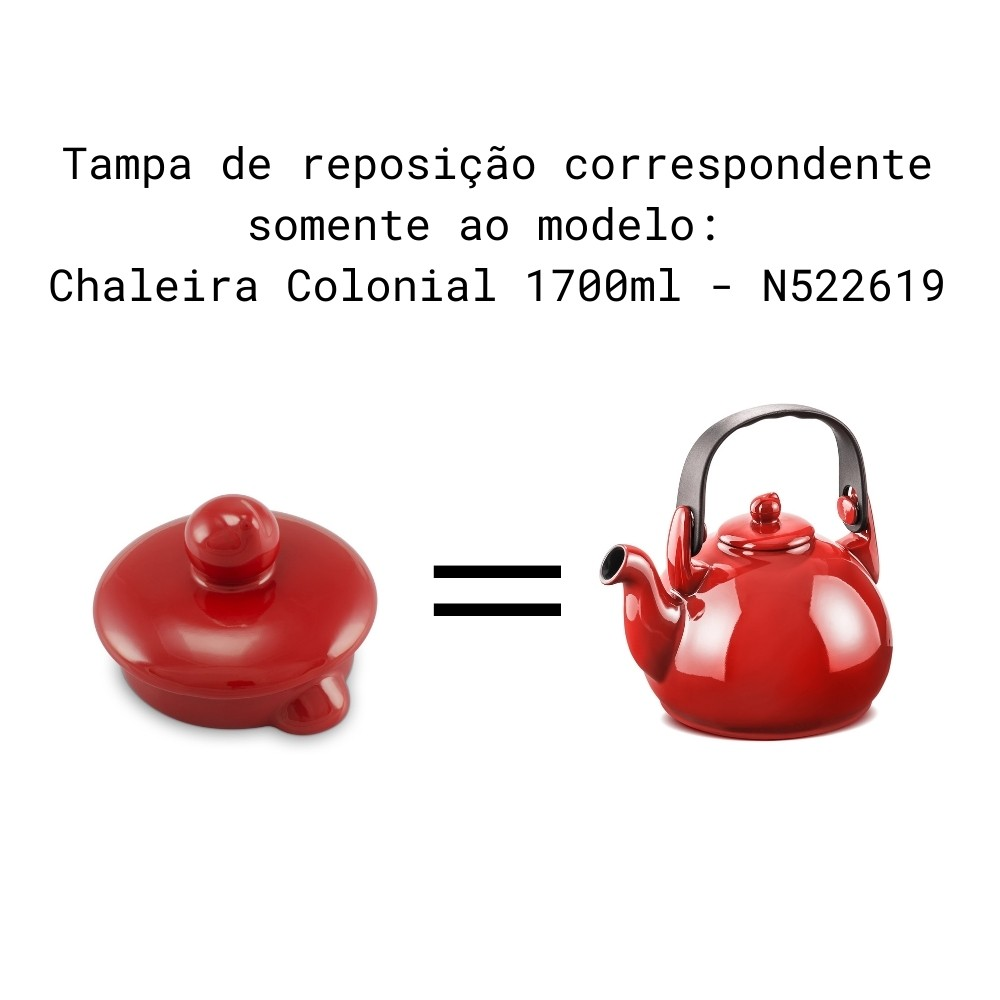 Tampa Para Chaleira Colonial E Chaleira Gourmet Pomodoro