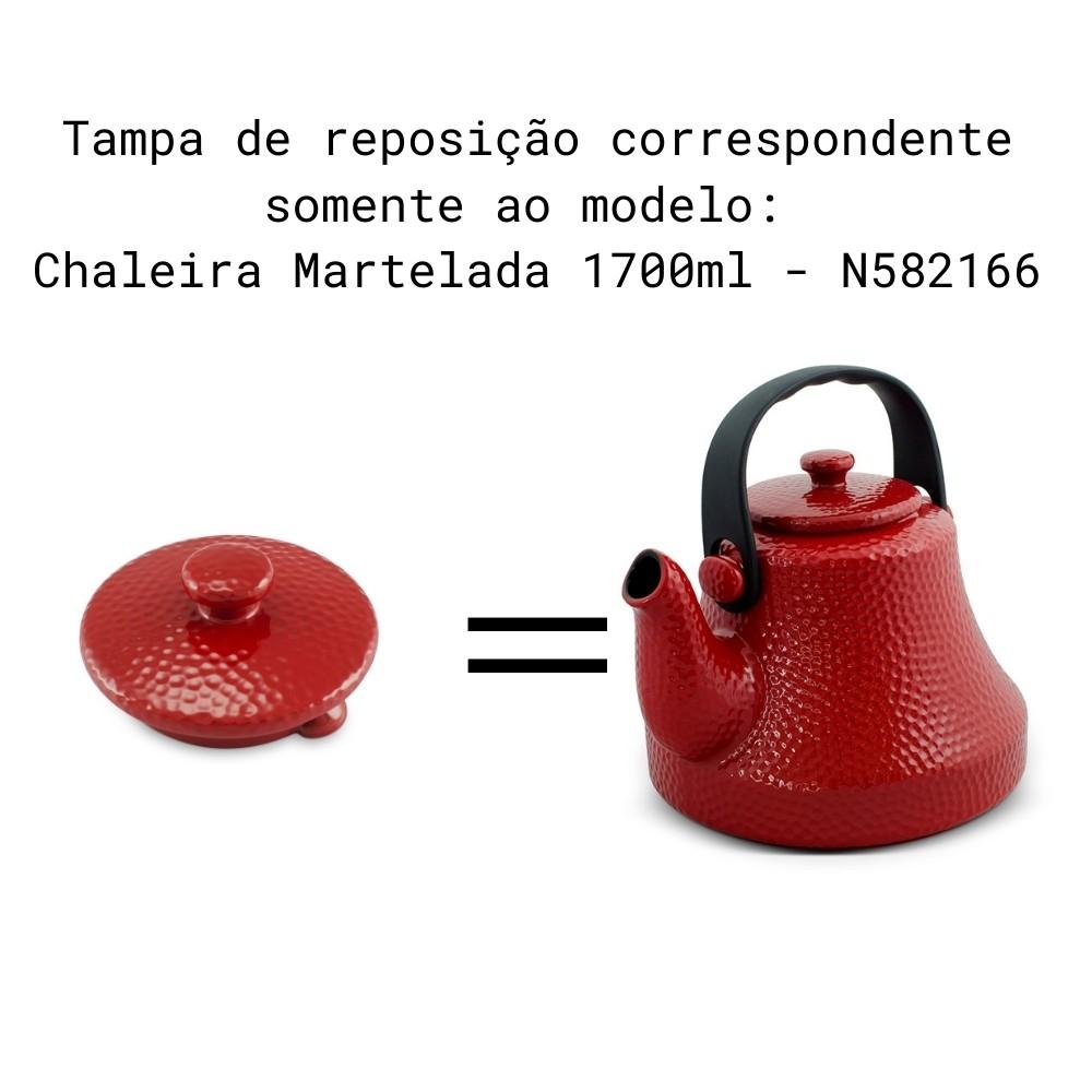Tampa Para Chaleira Martelada Pomodoro