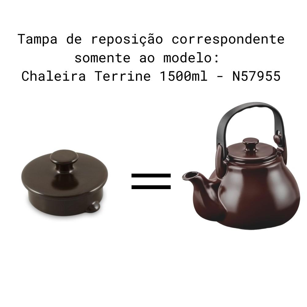 Tampa Para Chaleira Terrine E Bule Terrine Chocolate