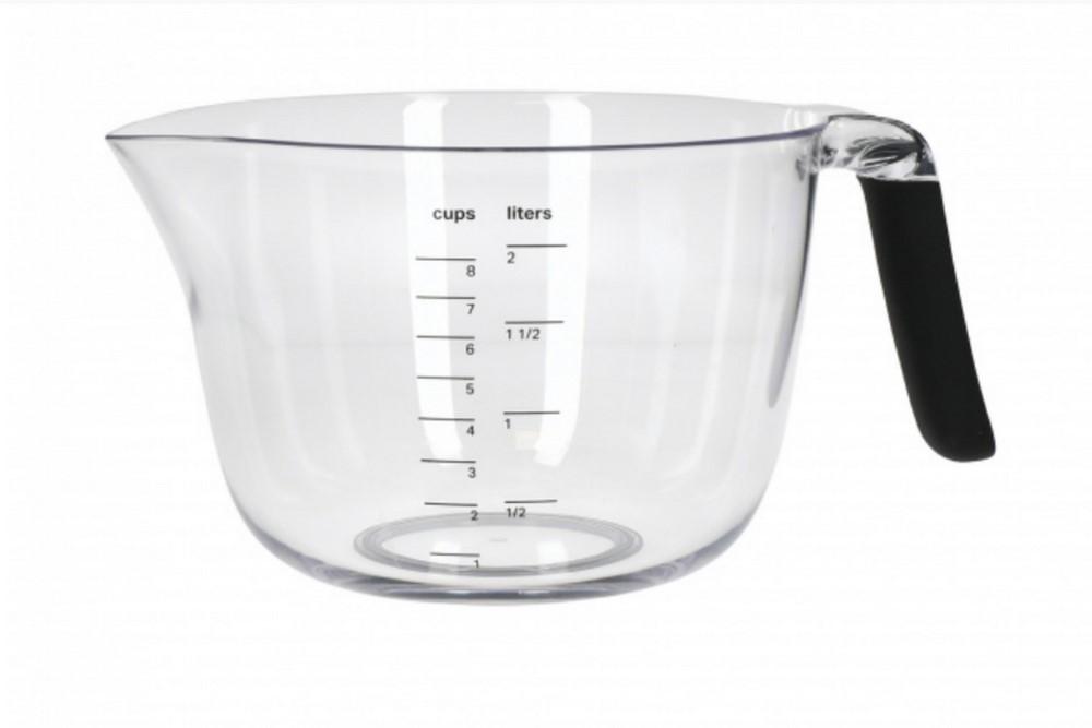 Tigela Com Medição Capacidade De 2 Litros KitchenAid Preto