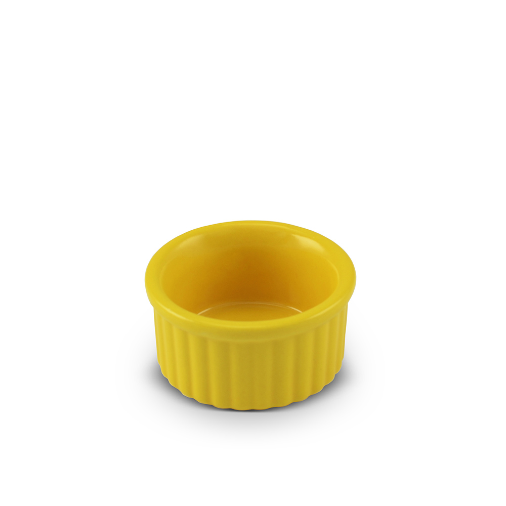 Tigela Ramequim De Cerâmica Ceraflame 6Cm Amarelo