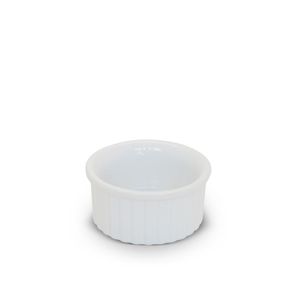 Tigela Ramequim De Cerâmica Ceraflame 6Cm Branco
