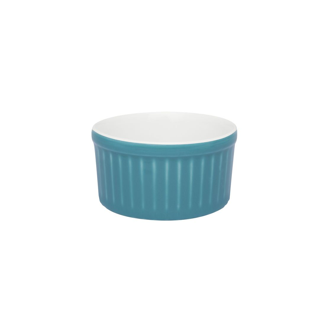 Tigela Ramequin 6X3Cm 50Ml - Branco/Azul - Oxford Cookware