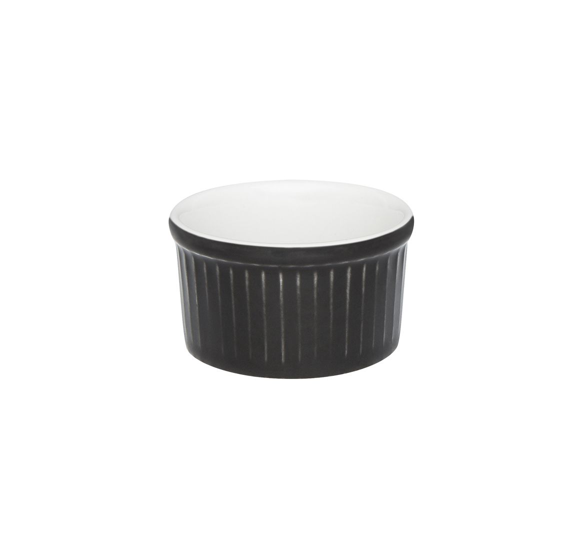 Tigela Ramequin 6X3Cm 50Ml - Branco/Preto - Oxford Cookware