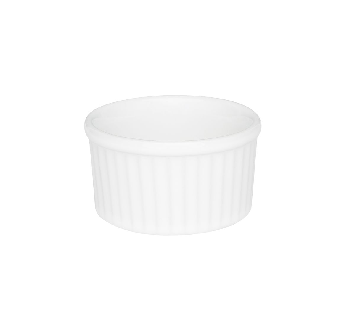 Tigela Ramequin 8X4Cm 100Ml - Branco - Oxford Porcelanas