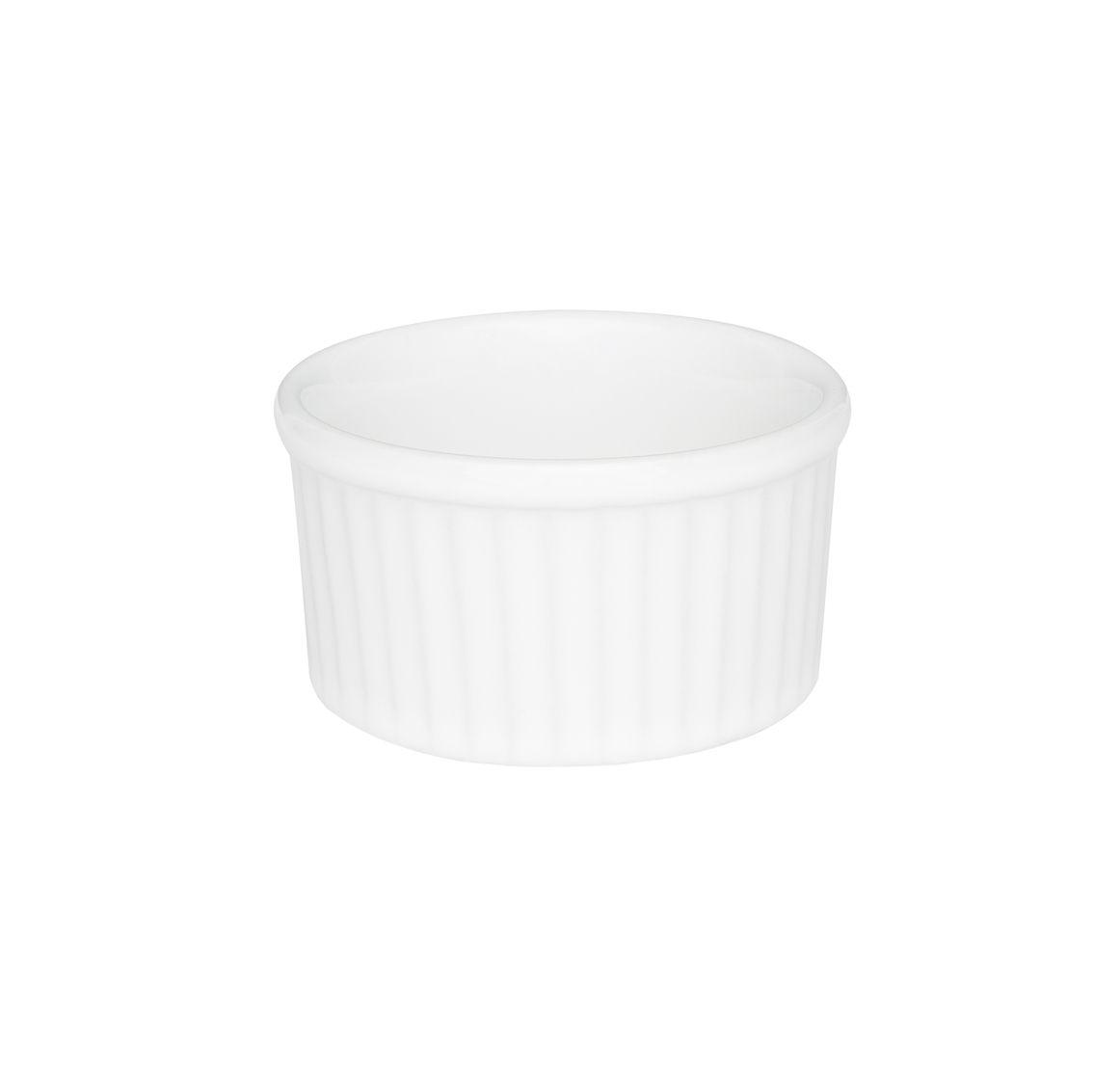 Tigela Ramequin 8X4Cm 100Ml - Branco - Oxford Porcelanas