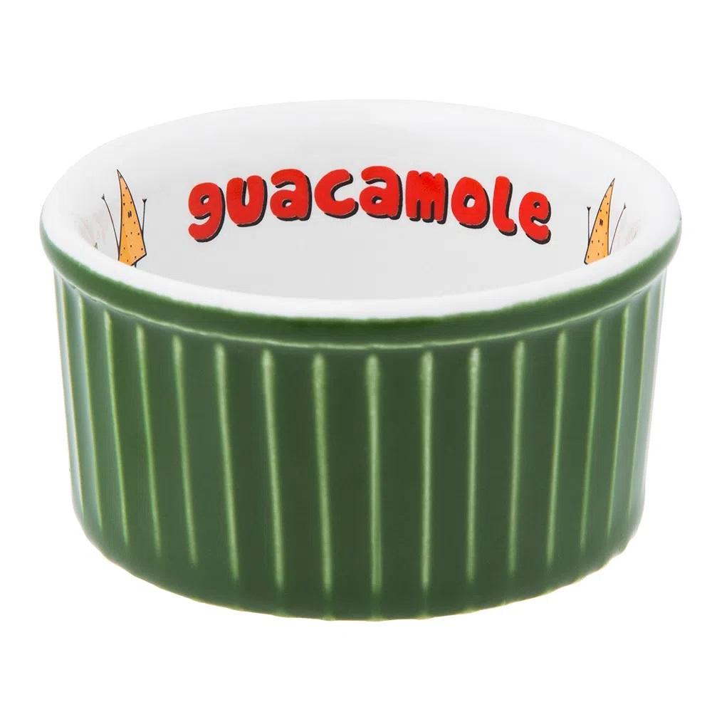 Tigela Ramequin 8X4Cm 100Ml - Guacamole - Verde - Oxford Porcelanas