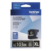 Cartucho Brother 103BK XL Preto LC103BK