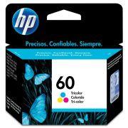 Cartucho HP 60 Colorido 3ml CC643WB