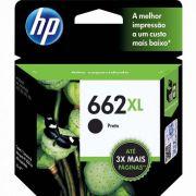 Cartucho HP 662XL Preto 6,5ml CZ105AB