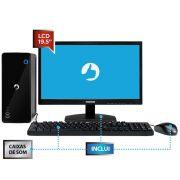 Computador All in One Positivo Stilo C4500B-19, Intel® Celeron™, RAM 4GB, HD 500GB, Tela 19.5'' - Windows 10 Home