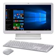 Computador Samsung All In One E5, Intel i5 7200u, Tela 21.5'', 8GB, 1TB - Windows 10 Home - Branco