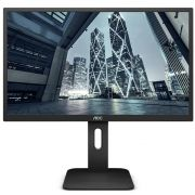 Monitor LED AOC 18.5'' Widescreen 9P1E, Com base ajustável, HDMI - Preto