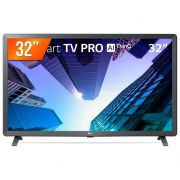 Smart TV LED 32'' LG, Modo Hotel, HMDI, USB, Bivolt, Preto - 32LM621CBSB