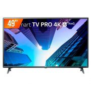 Smart TV LED 4K 49'' LG, Modo Hotel, HDMI, USB, weBOS - 49UM731C0SA