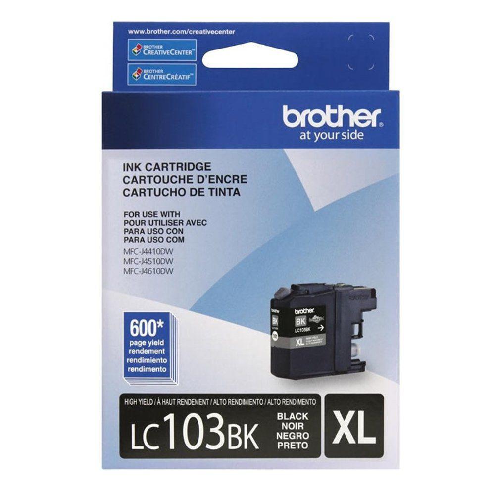 Cartucho Brother 103BK XL Preto LC103BK