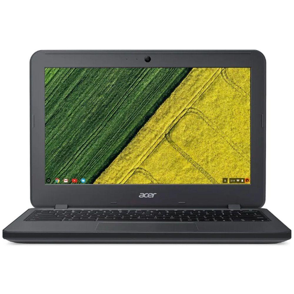 Chromebook Acer C731T-C2GT, Intel Celeron, RAM 4GB, Tela 11.6'' HD, Chrome OS - Cinza