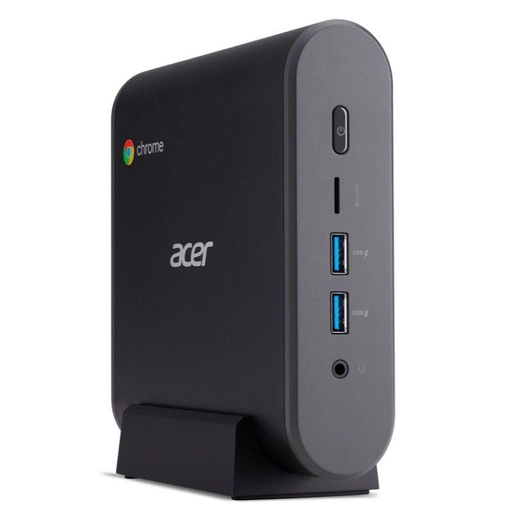 Chromebox Acer CXI3-4GNKM, Intel Celeron® 3865U, RAM 4GB, SSD 32GB - Chrome OS