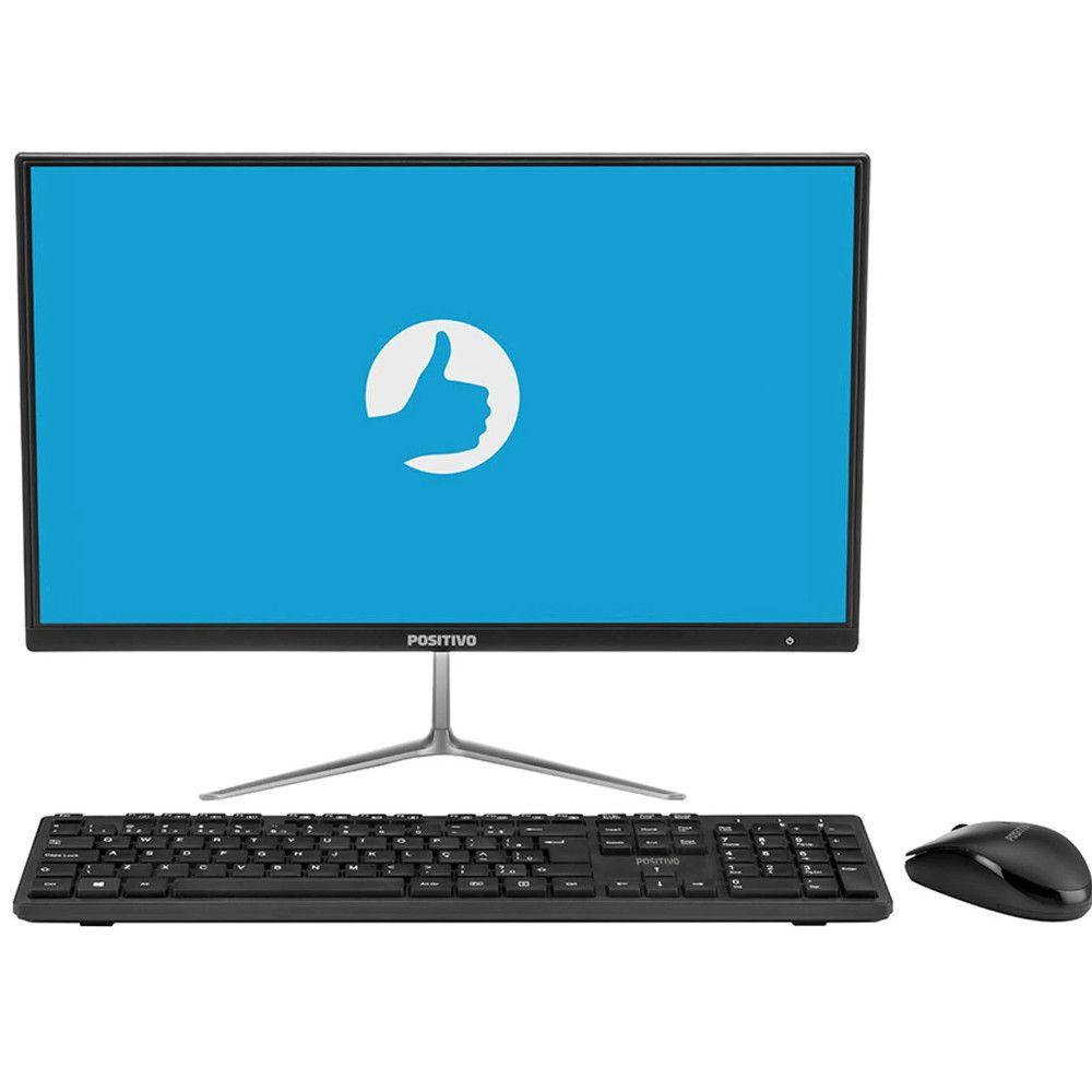 Computador All in One Positivo Master A1120, Intel® Celeron™, RAM 4GB, HD 500GB, Tela 21.5'' - Shell EFI