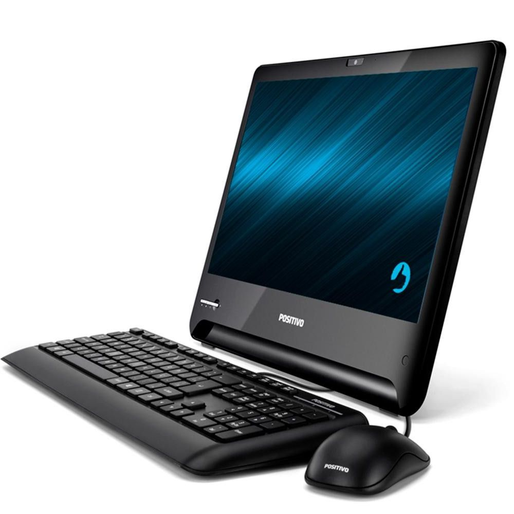 Computador All in One Positivo Master A2100, Intel® Core™ i5-7ª Geração, RAM 8GB, HD 500GB, Tela 18.5'' - Windows 10 Home