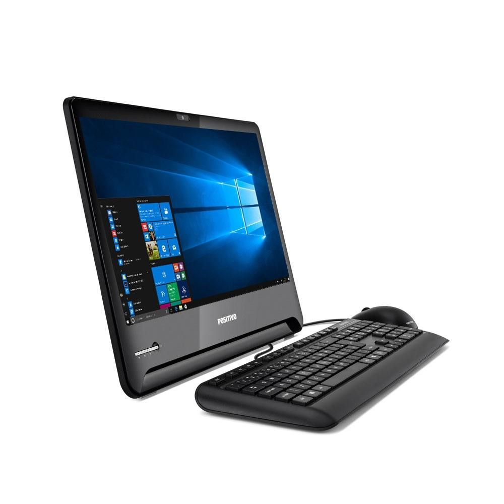 Computador All in One Positivo Master A2100, Intel® Core™ i5-7ª Geração, RAM 8GB, HD 500GB, Tela 18.5'' - Windows 10 Pro