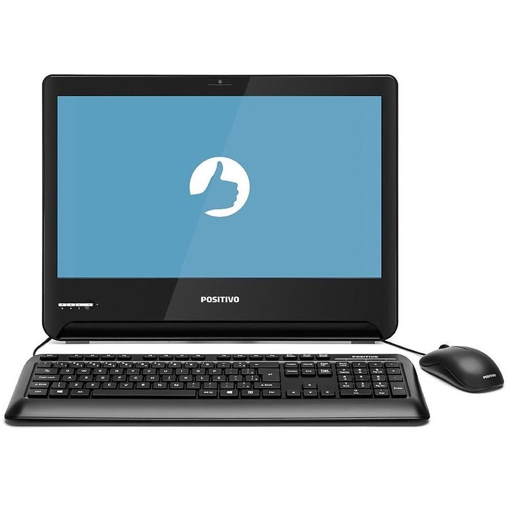 Computador All in One Positivo Master U1300, Intel® Celeron™, RAM 4GB, HD 32GB, Tela 18.5'' - Windows 10 Pro