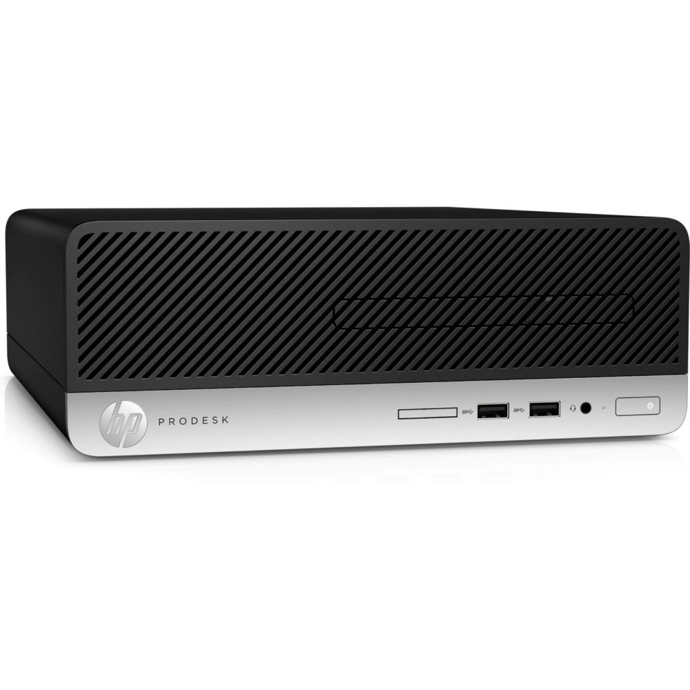 Computador HP Prodesk 400 G5 SFF Intel Core i3-8100 4GB RAM HD 500GB com Windows 10 Pro