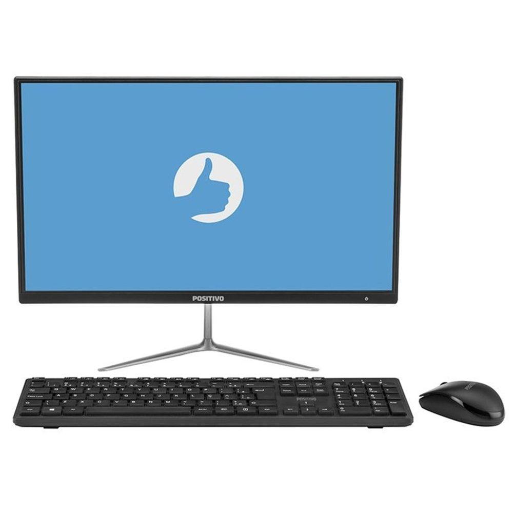 Computador Positivo All In One Union C4500A-21, Intel Celeron, 4GB, HD 500GB, Tela 21.5'' -  Windows 10 Home