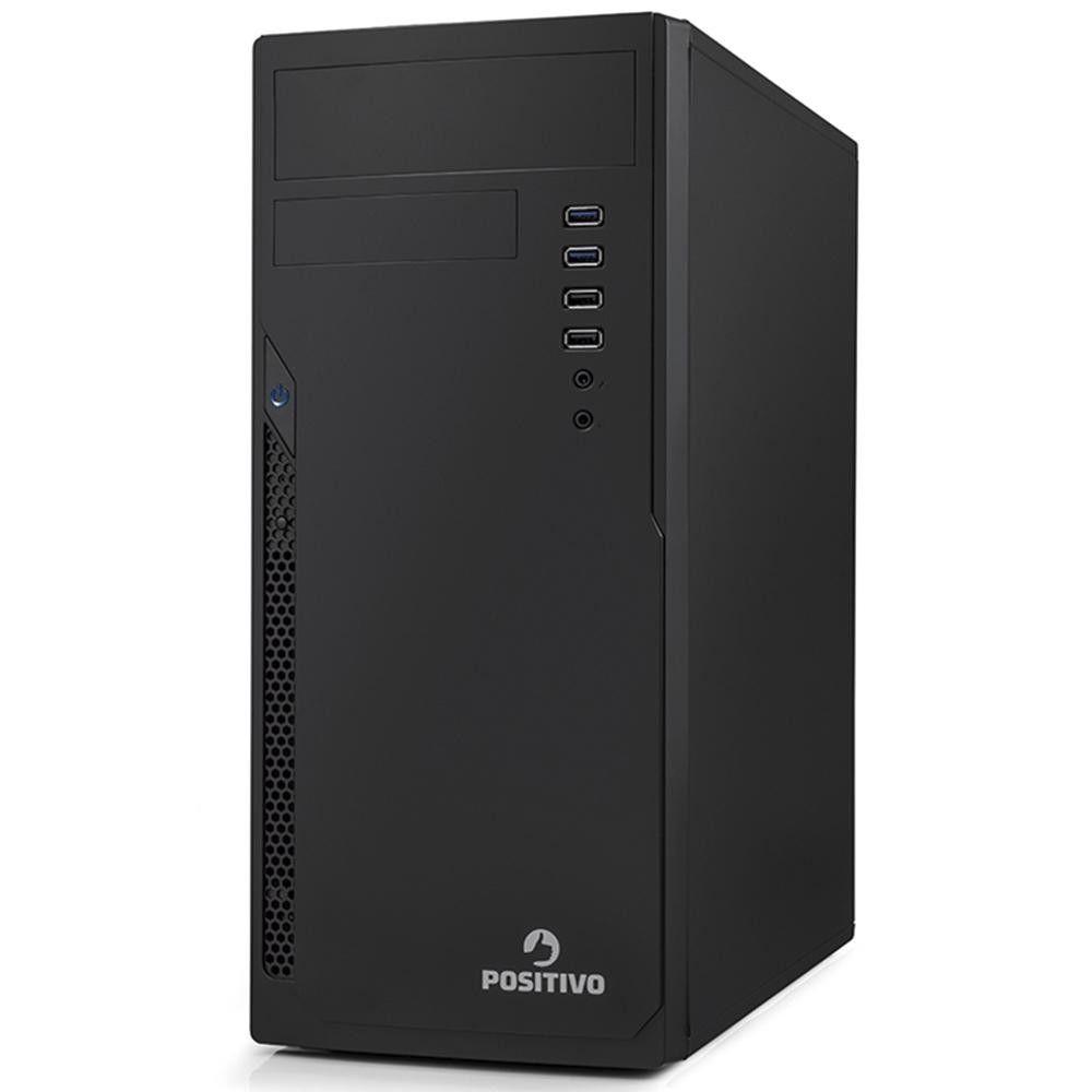 Computador Positivo Master D2200, Intel® Core™ i7-8ª Geração, RAM 8GB, HD 1TB - Shell EFI