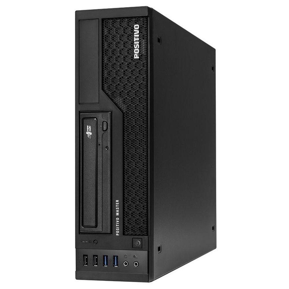 Computador Positivo Master D610, Intel i3-7ª Geração, RAM 4GB, HD 500GB - Windows 10 Pro
