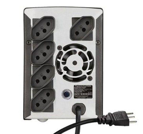 Estabilizador Progressive III SMS AP 1000 BI 16216 - 1000W Bivolt / 115V - 5 Tomadas (Novo Padrão)