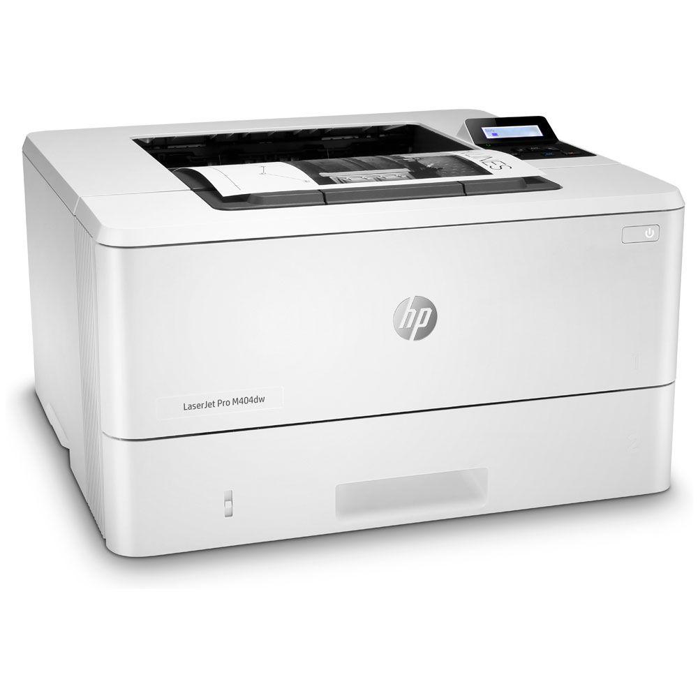 Impressora HP LaserJet Pro M404dw Monocromática Preto e Branco