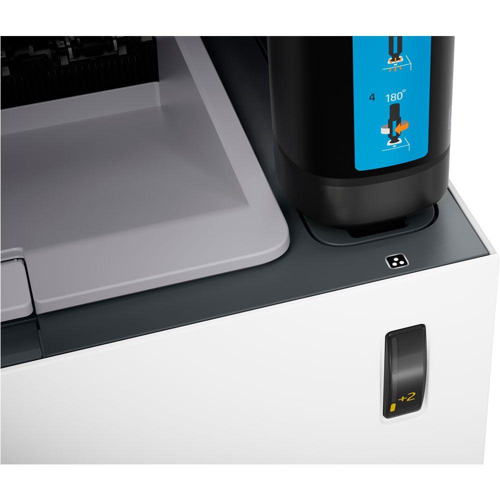 Impressora HP Neverstop Laser 1000A 4RY22A Tanque de Toner Monocromática Preto e Branco