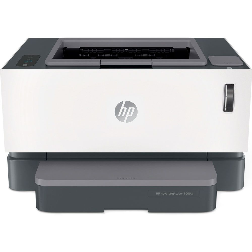 Impressora HP Neverstop Laser 1000W 4RY23A Tanque de Toner Monocromática Preto e Branco com Wi-Fi