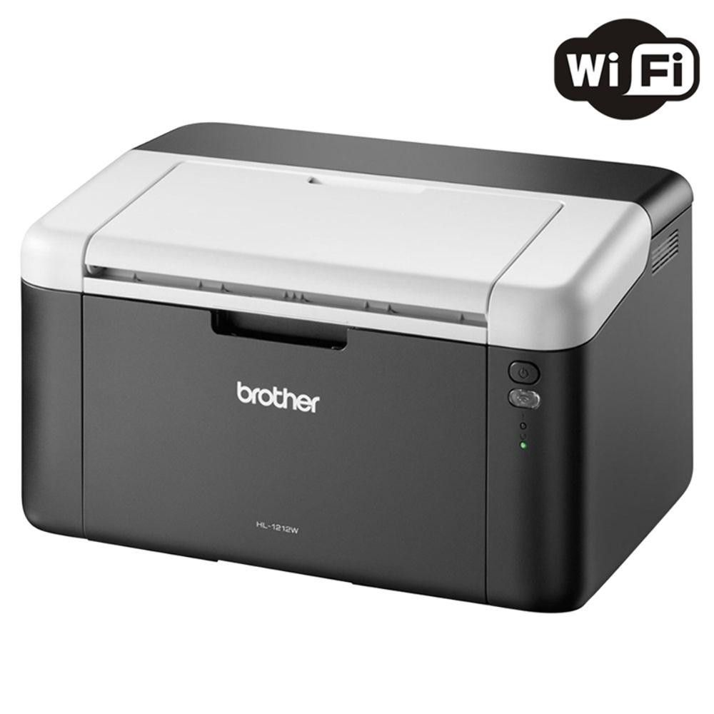 Impressora Laser Mono Brother HL-1212W - Wireless