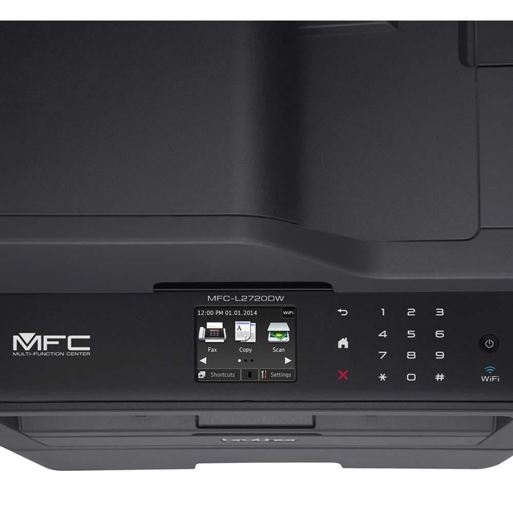 Impressora Multifuncional Brother Laser Monocromática MFC - L2720DW