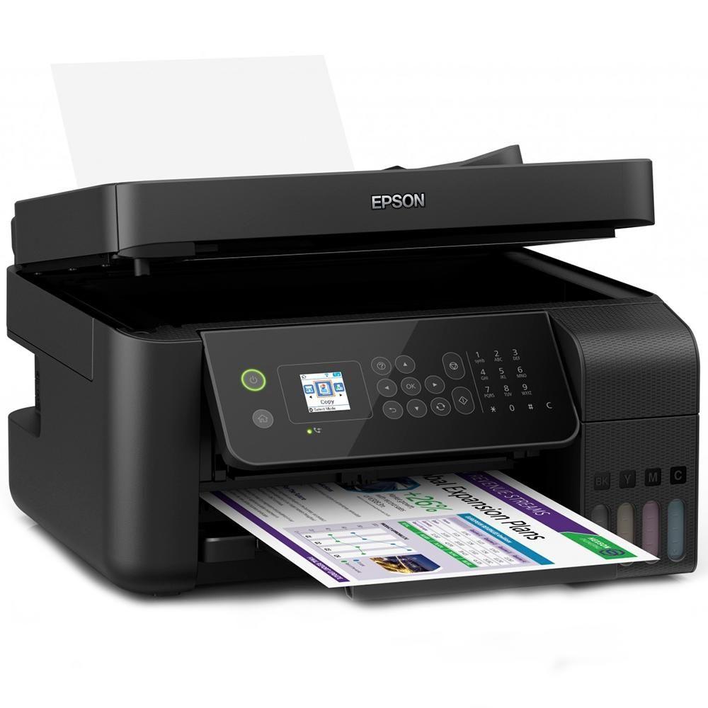 Impressora Multifuncional Epson EcoTank MFP A4, Wifi - L5190