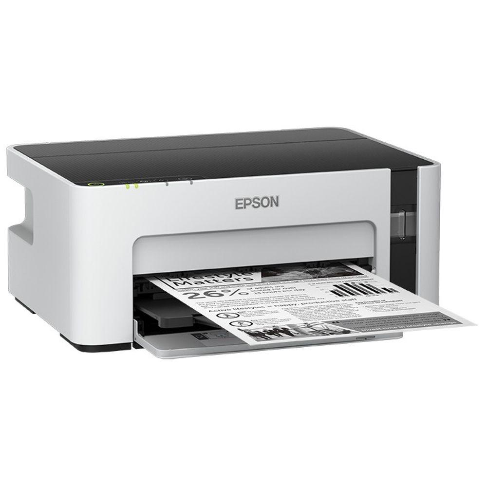 Impressora Multifuncional Epson EcoTank, Tanque de Tinta, Wifi, USB - M1120