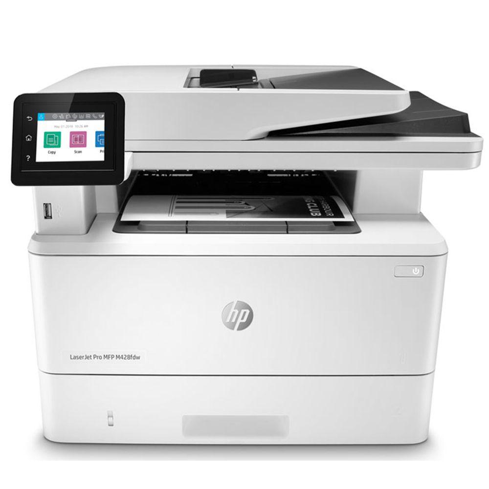 Impressora Multifuncional HP LaserJet Mono  -  M428FDW