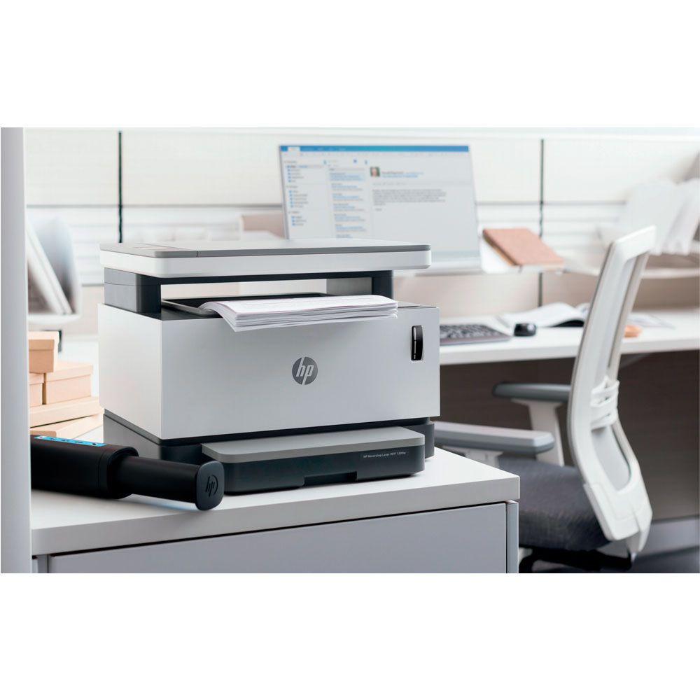 Impressora Multifuncional Laser HP Neverstop 1200A Tanque de Toner Monocromática Preto e Branco