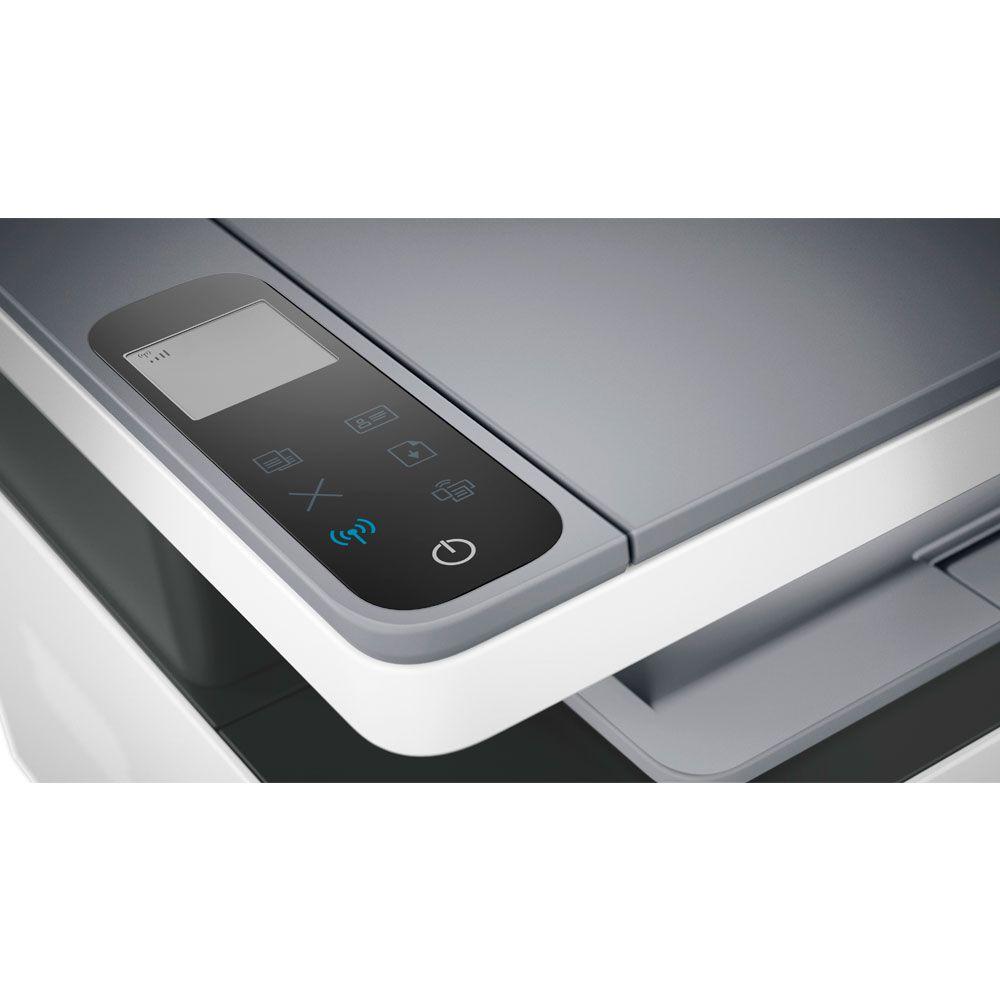 Impressora Multifuncional HP Neverstop Laser 1200W 4RY26A Tanque de Toner Monocromática Preto e Branco com Wi-Fi