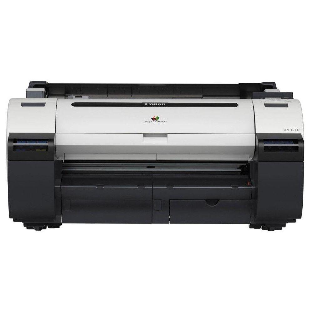 Impressora Plotter Canon ImagePRO IPF670 A1 (24 pol.)