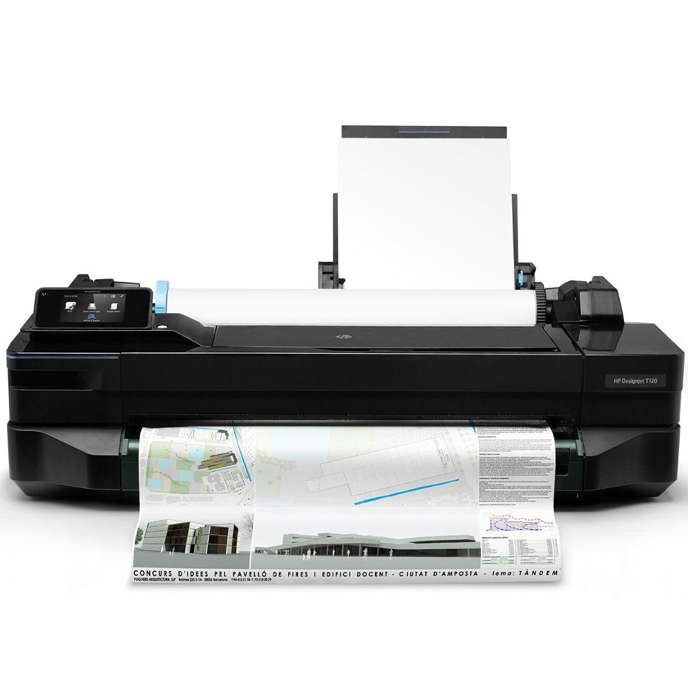Impressora Plotter HP DesignJet T120 24-in - CQ891B
