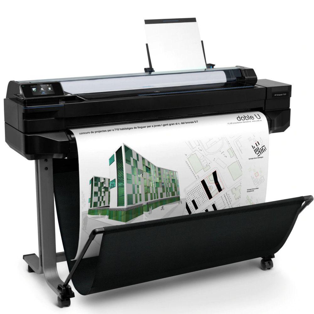 "Impressora Plotter HP Designjet T520 36"" - CQ893CB1K"