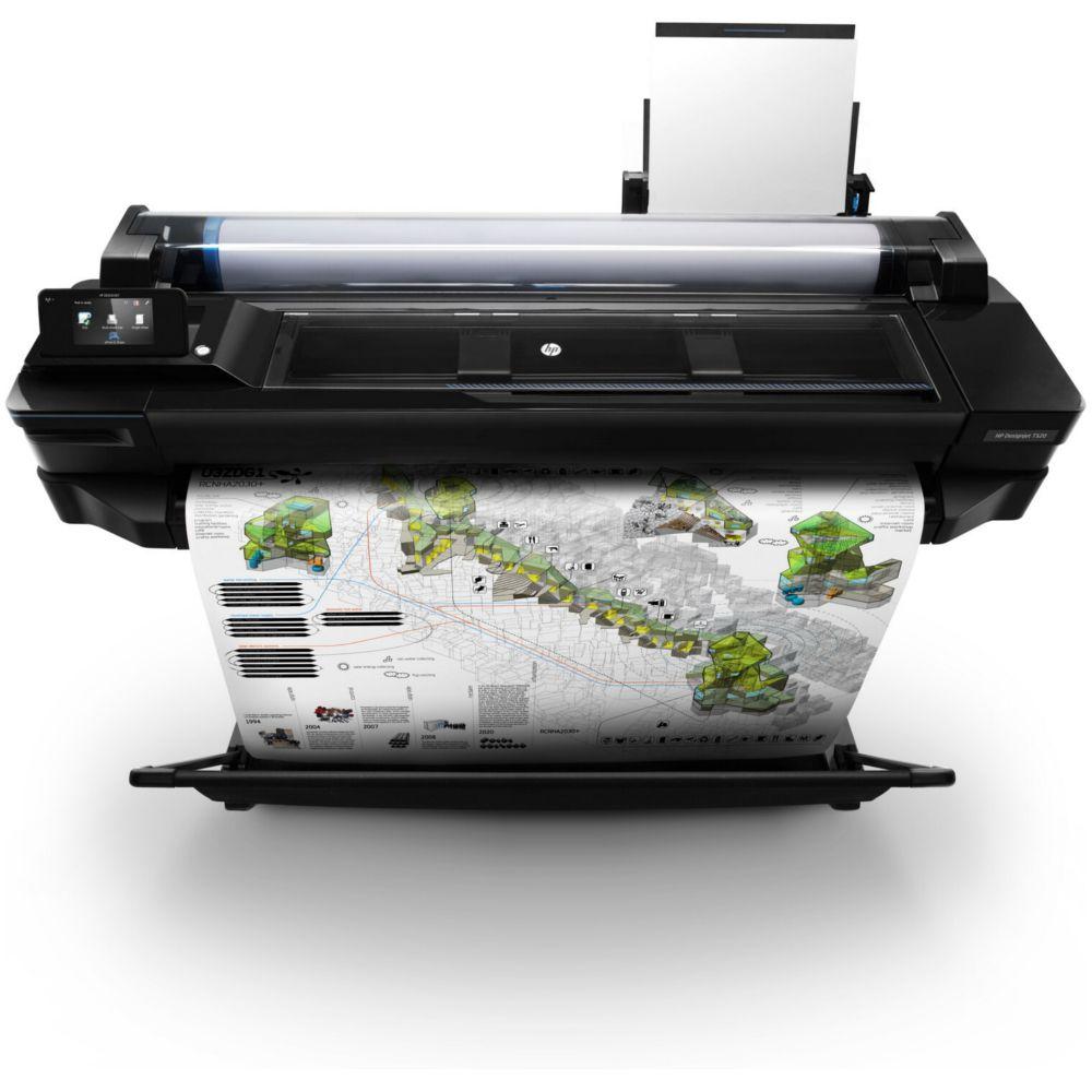 Impressora Plotter HP DesignJet T520 36-in - CQ893B
