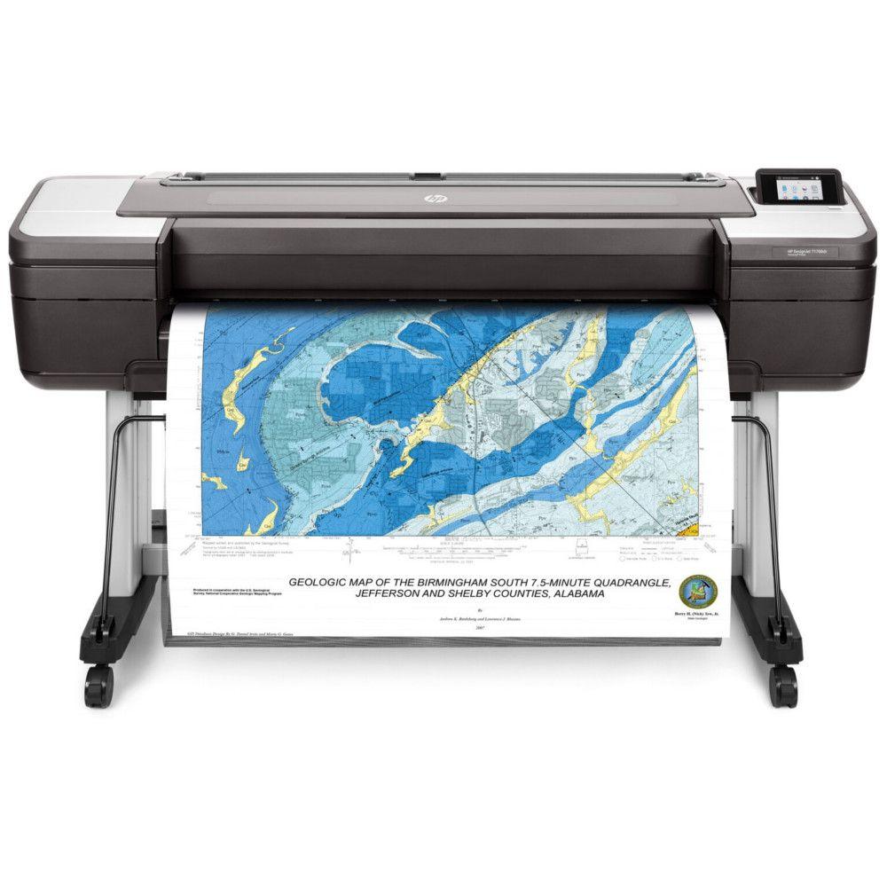 Impressora Plotter HP T1700DR OS PostScript de 44 Polegadas