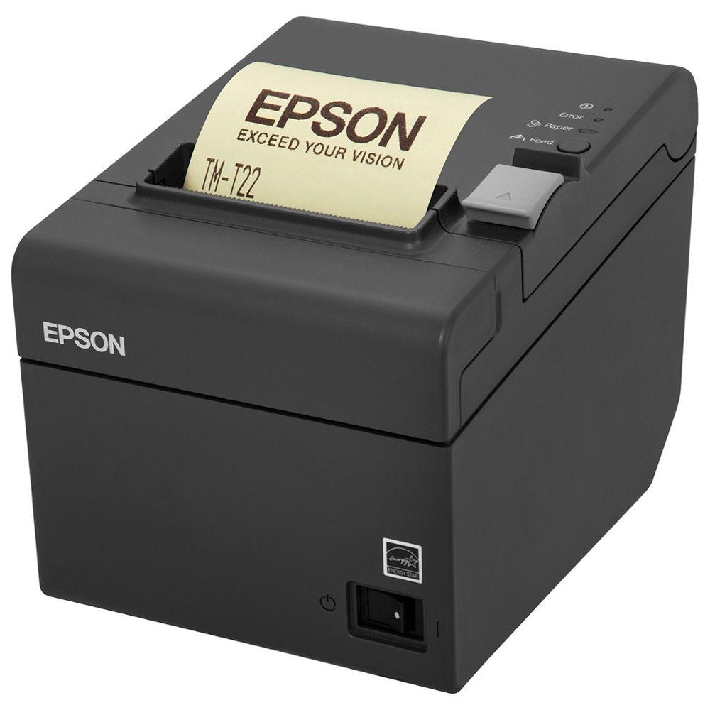 Impressora Térmica Não Fiscal Epson TM-T20 Serrilha e Guilhotina Serial