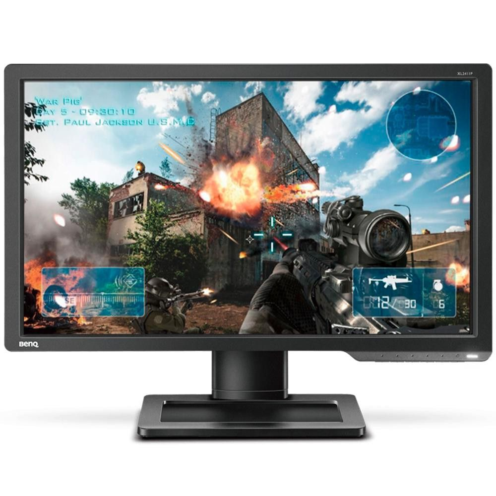 Monitor Gamer 24'' LED Zowie XL2411P, Full HD, 144Hz, Ajuste de Altura, Preto, DVI, HDMI