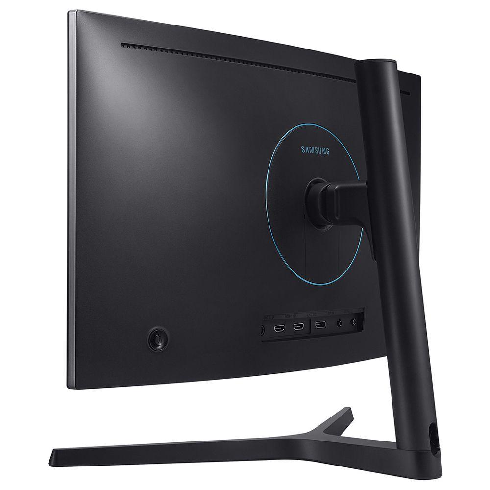 Monitor Gamer Samsung  24''', QLED, Curvo, HDMI, DP - LC24FG73FQLXZD