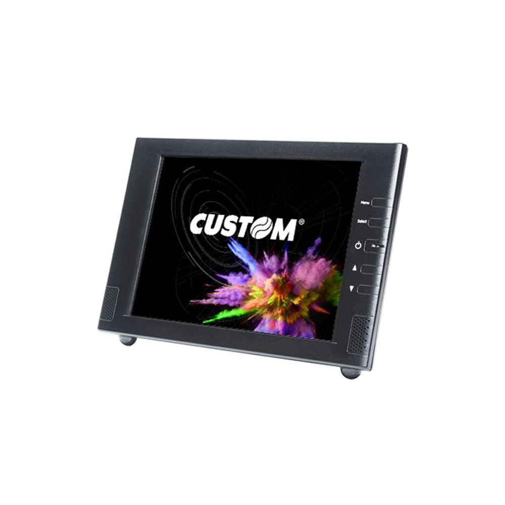 Monitor LCD Nitere 8'' Ism- 0820s, VGA - GPS080N12013X3